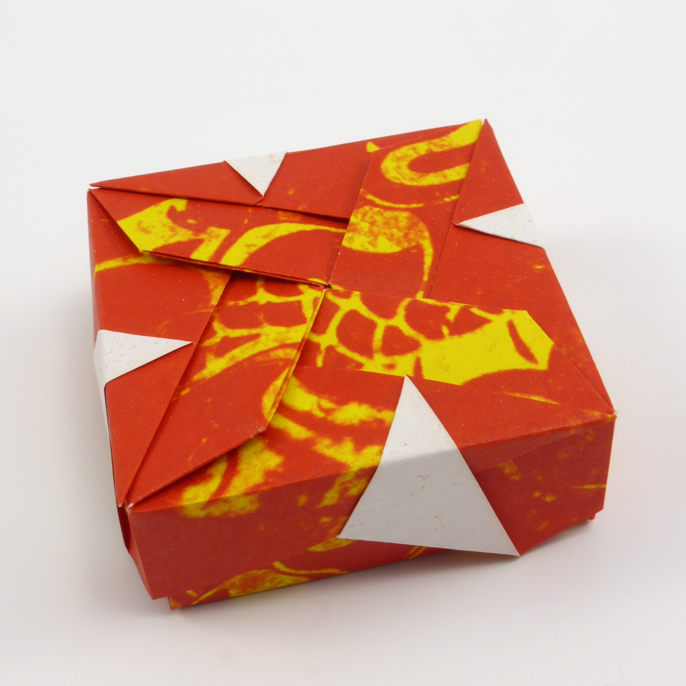 Origami Boxes Models Folded By Michal Kosmulski
