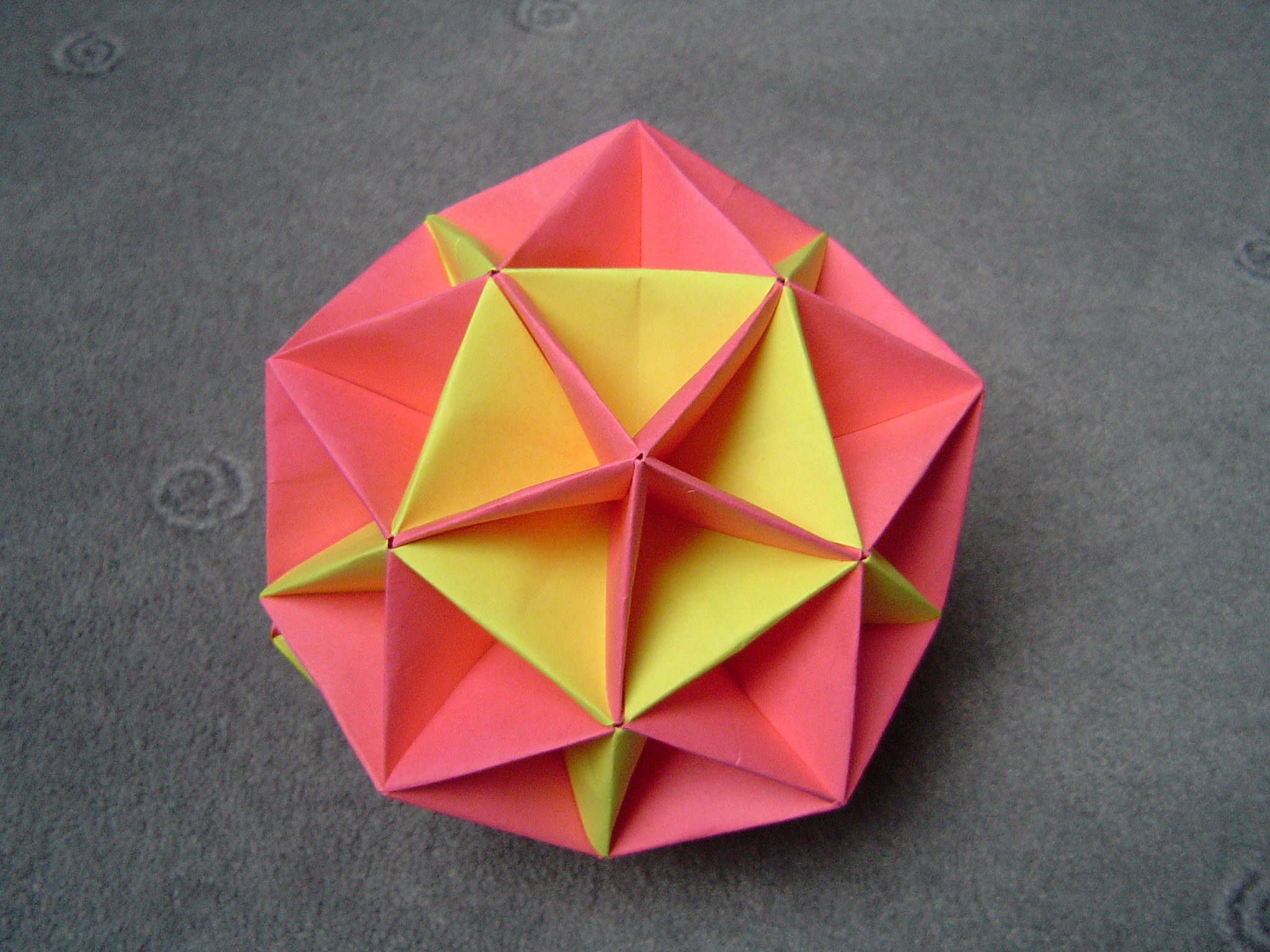 Dodecahedron With Pentagonal Pyramids On All Faces And Inverted Spikes Side
