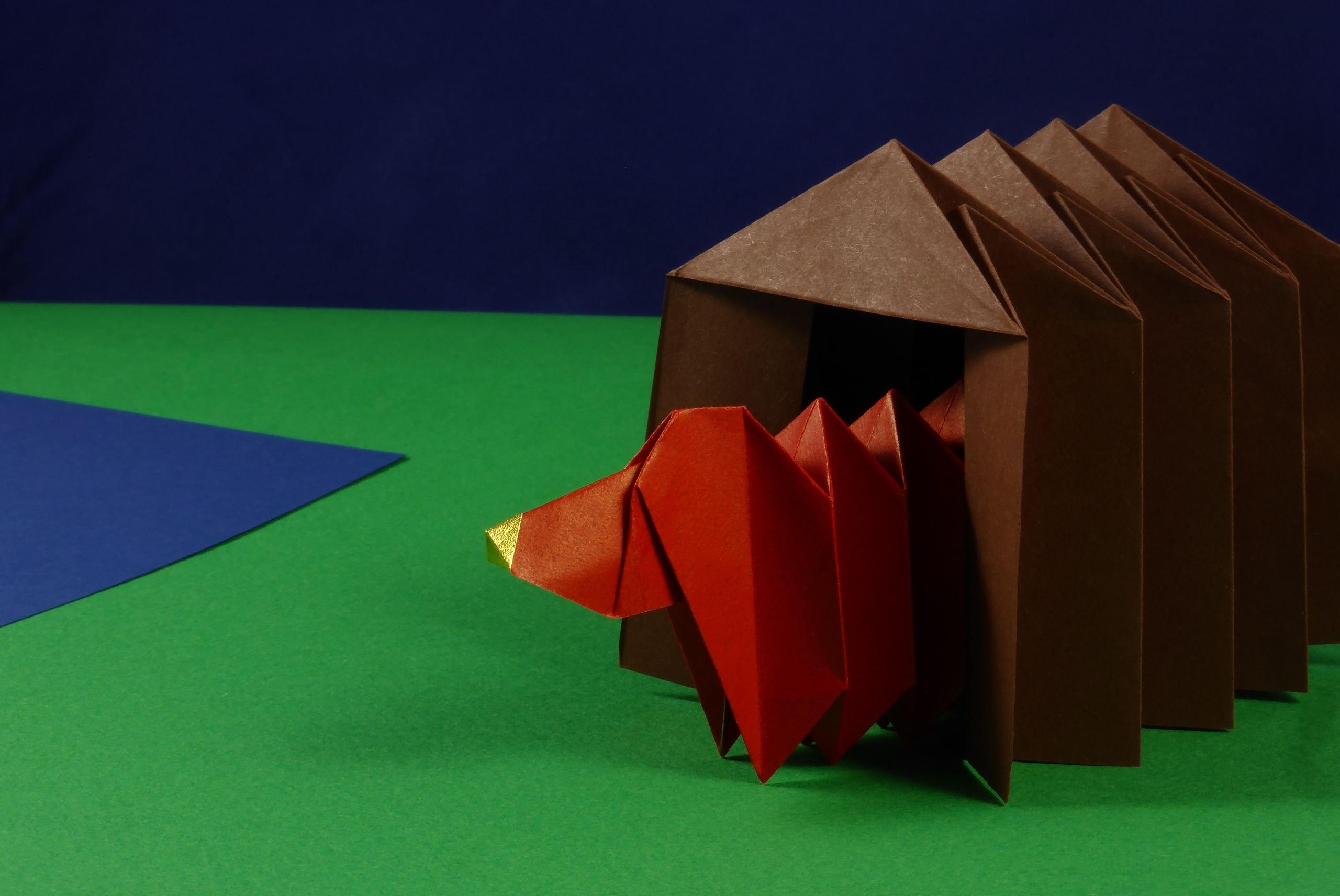 Modular Origami Architecture And Landscape Models Folded By Micha Diagrams Designs How To Fold An Dog House For Yara Yagis Dachshund Building Block Unit Bbu