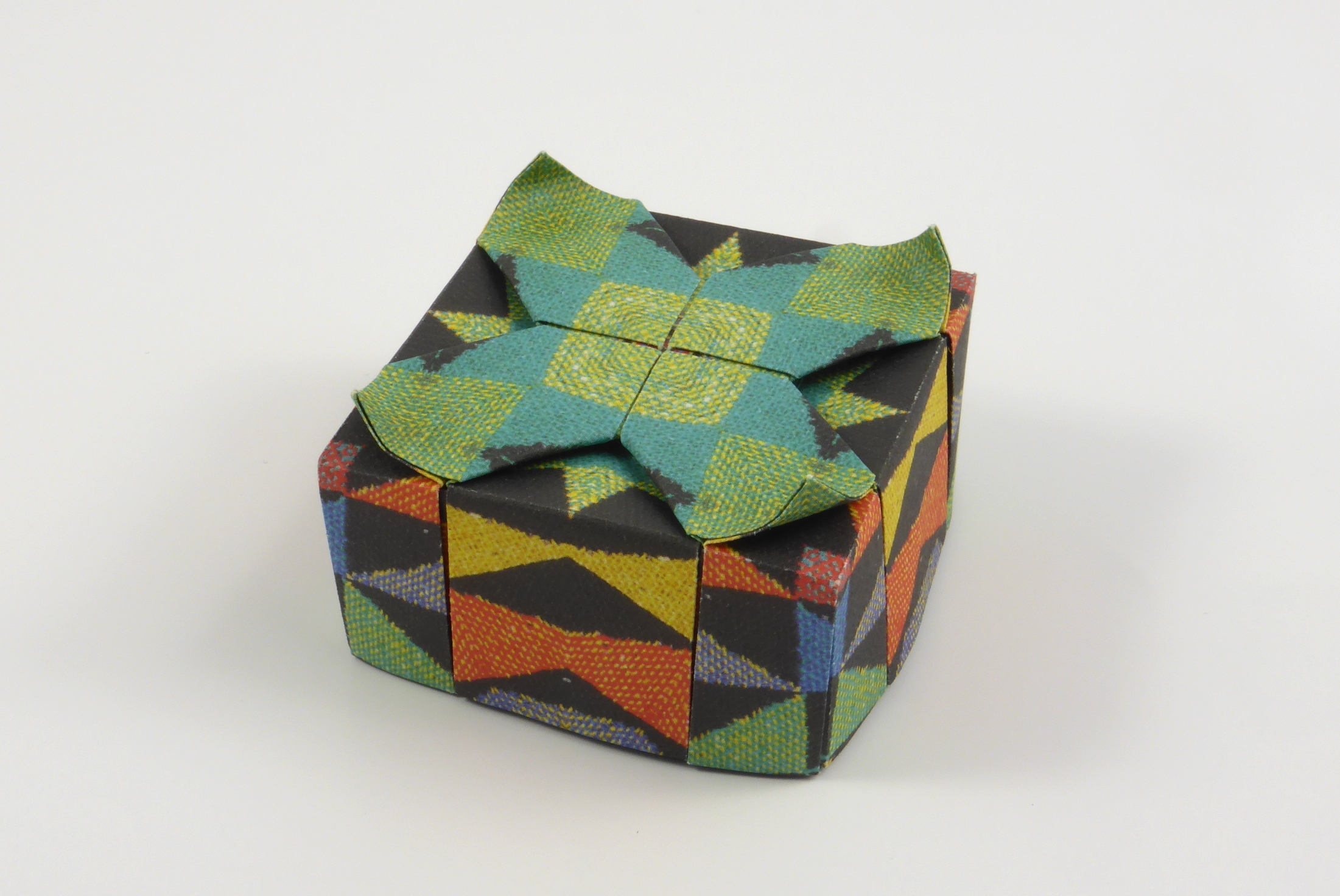 Origami Boxes Models Folded By Micha Kosmulski
