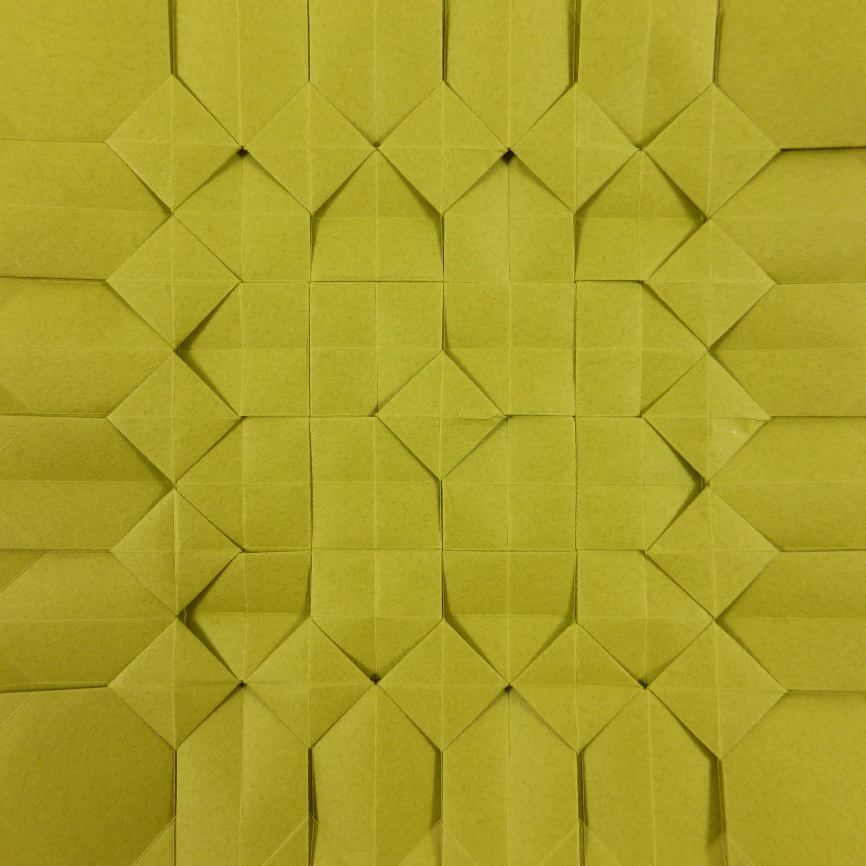 Square Pixel Tessellation By Micha Kosmulski Crease Pattern And
