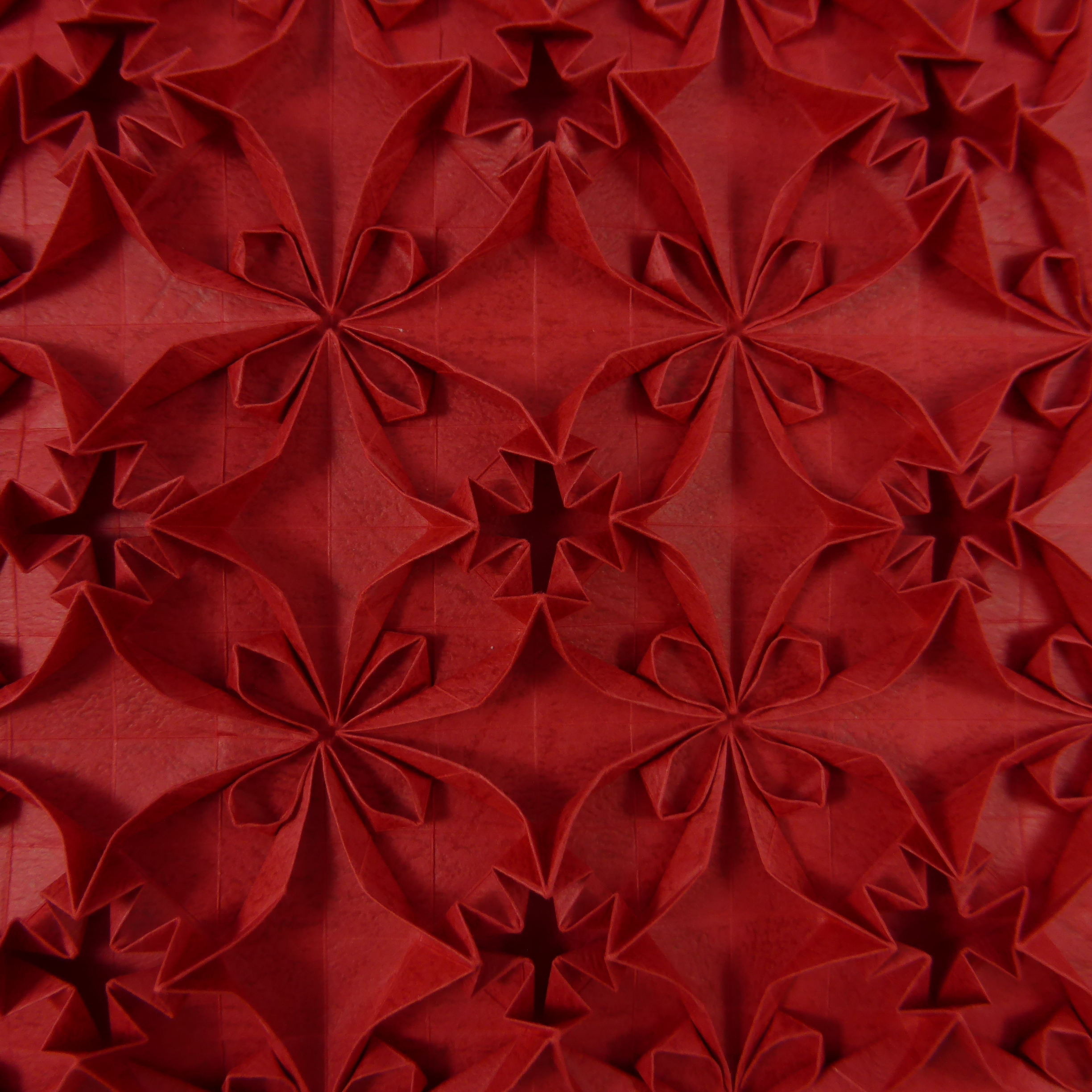 Two In One Flower Tessellation Close Up 1